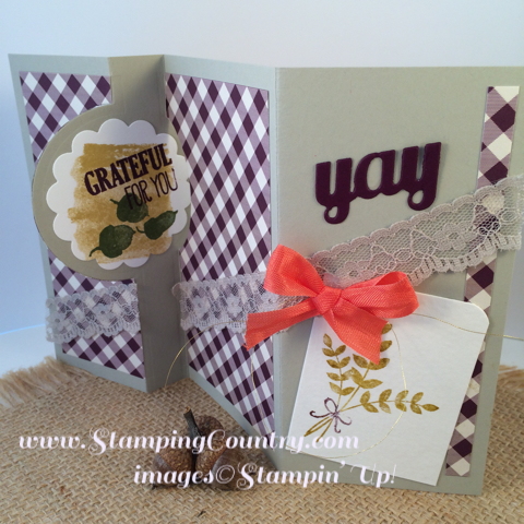 For All Things Stampin' Up! Card