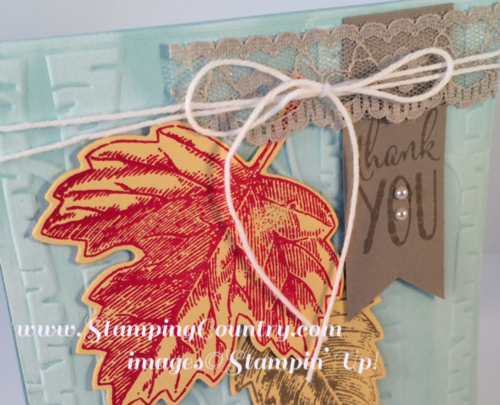 Vintage Leaves Stamp Set by Stampin' Up!