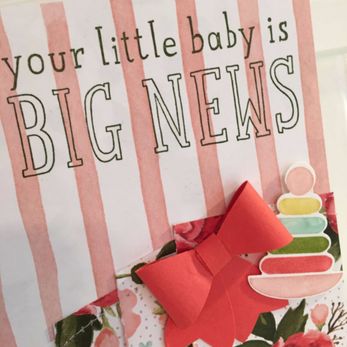 Big News Baby Card