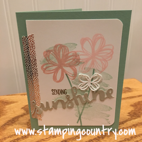 Sunshine Sayings Stampin' Up!