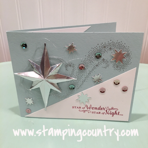 Star of Light Stampin' Up!