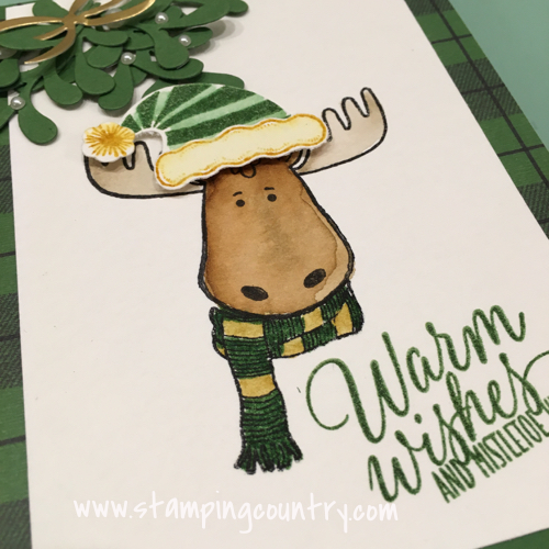 Jolly Friends Moose Stampin' Up!