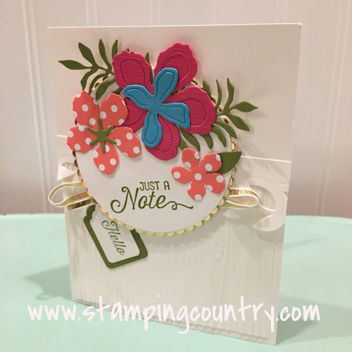 Botanical Builder Dies Stampin' Up!