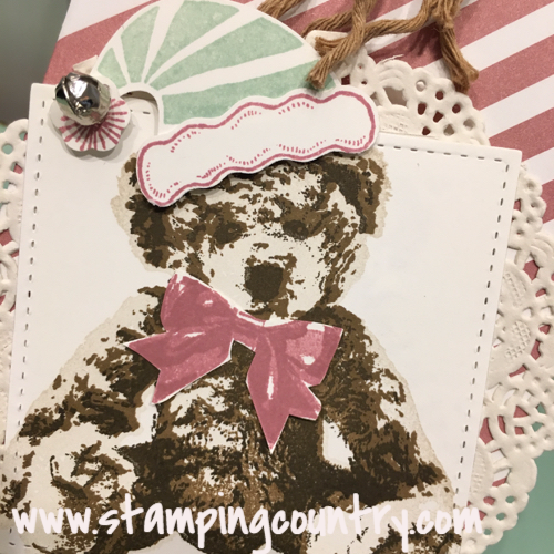 Stitched Shapes & Baby Bear