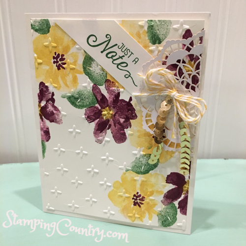 Penned & Painted Stampin' Up!