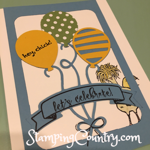 Balloon Adventures Stampin' Up!