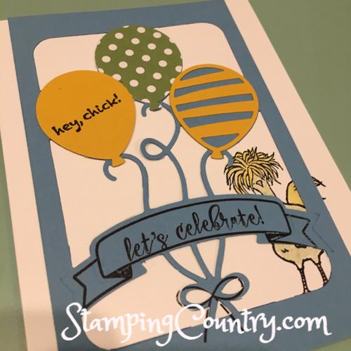 Balloon Adventures Stampin' Up!