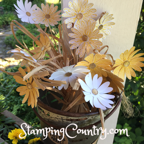 Daisy Delight Paper Daisies