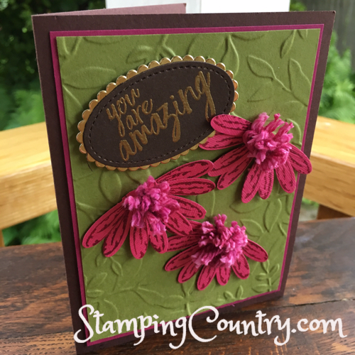 Daisy Punch Stampin' Up!