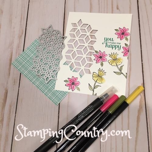 Flirty Flowers Stampin' Up!