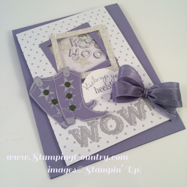 Bootiful Occasions Shaker Card