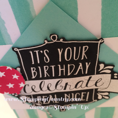 Balloon Bash Stamp Set