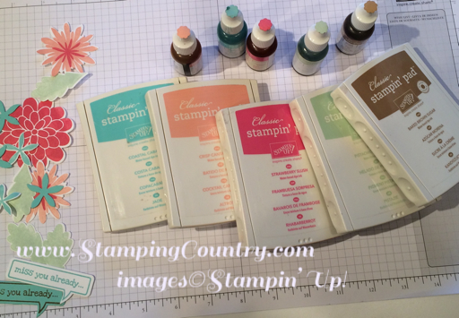 Stampin' Up! 2013-2015 In Colors