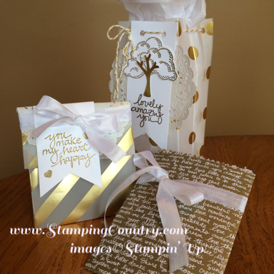 December 2015 stamping country diy gift bags solutioingenieria Choice Image