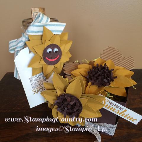 Sunflower Festive Flower Builder Punch