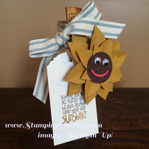 Smiley Face Sunflower