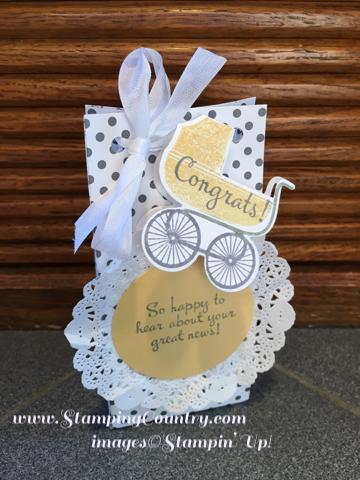 New Baby Congrats Bag