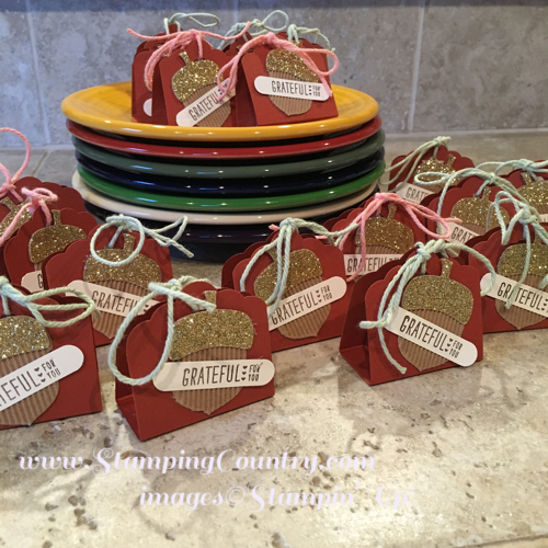 Make Your Own Thanksgiving Favors