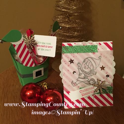 Elf Fry Box & Christmas Cuties