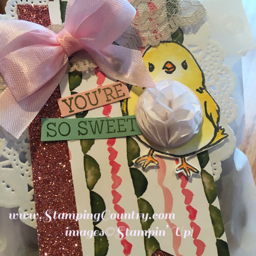 Honeycomb Happiness Stampin' Up!
