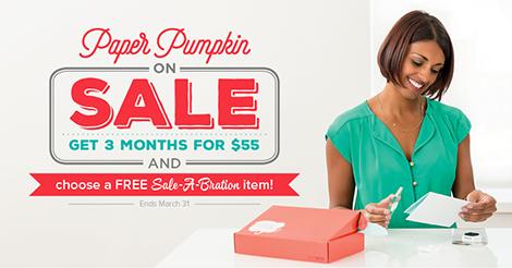 Paper Pumpkin Sale-a-Bration