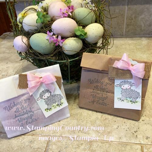 Easter Lamb Paper Craft