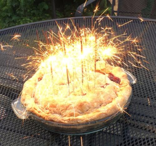 Sparkler Pie