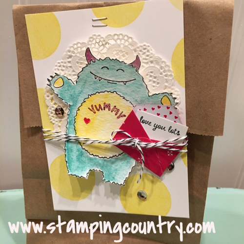 Yummy in My Tummy Stampin' Up! Occasions 2017