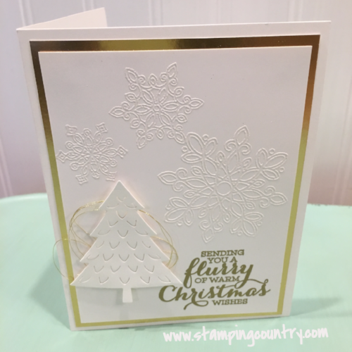 Flurry of Wishes Christmas Card