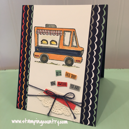 Tasty Trucks Stampin' Up!