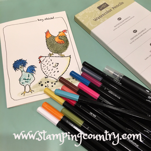 Stampin' Up! Watercolor Pencils