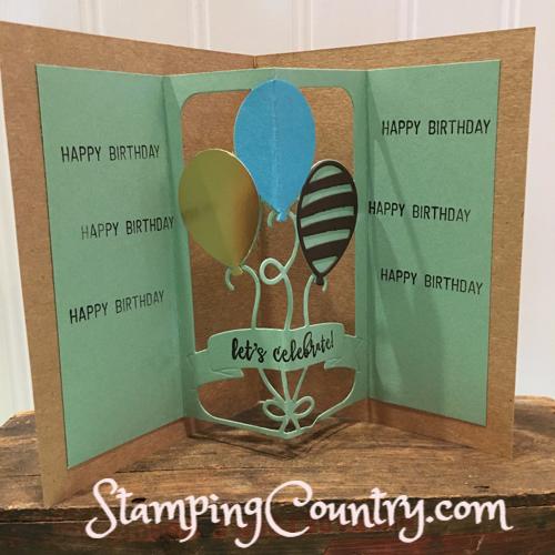 Handmade Birthday Pop-Up Card