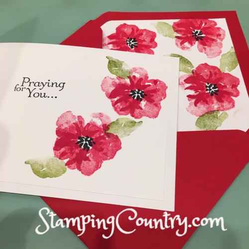 Handmade Get Well Card & Envelope