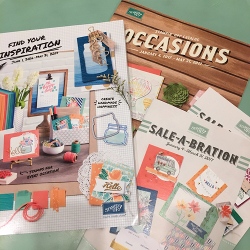Stampin' Up! Catalogs