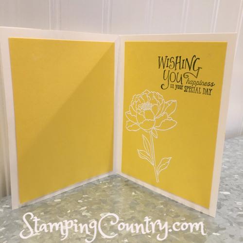 Handmade Card Tip