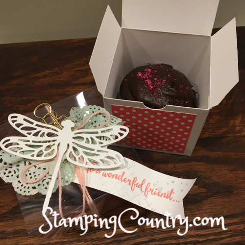 Dragonfly Dreams Cupcake Box