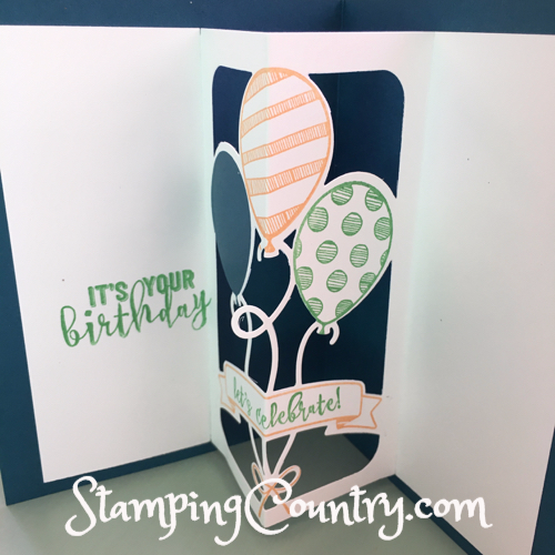 Balloon Adventures Pop-Up Card