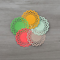 In Color Doilies