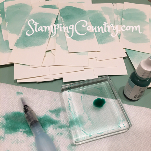 Watercoloring Bookmarks