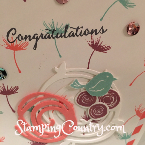 Swirly Bird Stampin' Up!