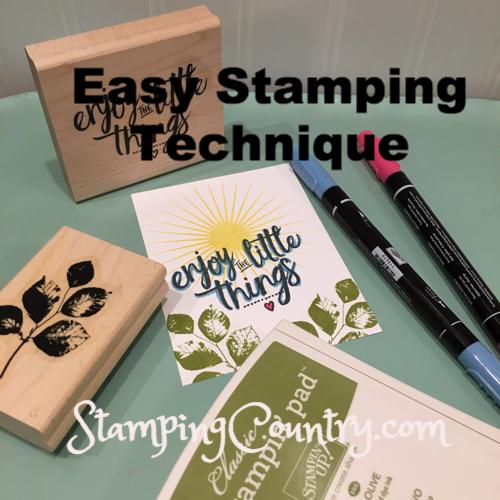 Stamping Tedhnique