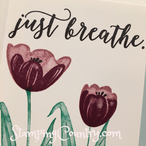 Tranquil Tulips Stampin' Up!