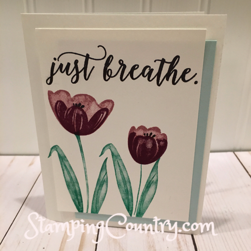 Tranquil Tulips Stampin' Up! Hostess Reward