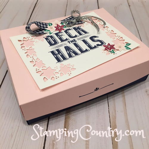 Carols of Christmas Custom Card Box