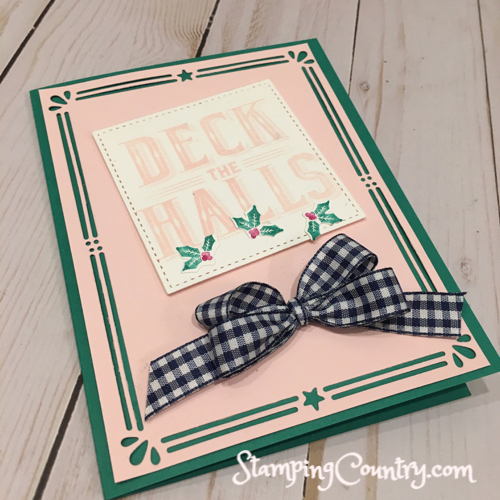 Carols of Christmas Stampin' Up!