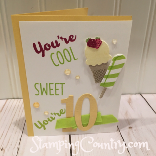 Handmade Milestone Birthday Card