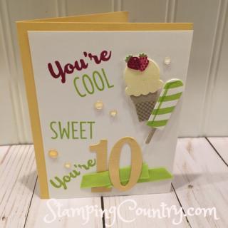 Handmade Milestone Birthday Card
