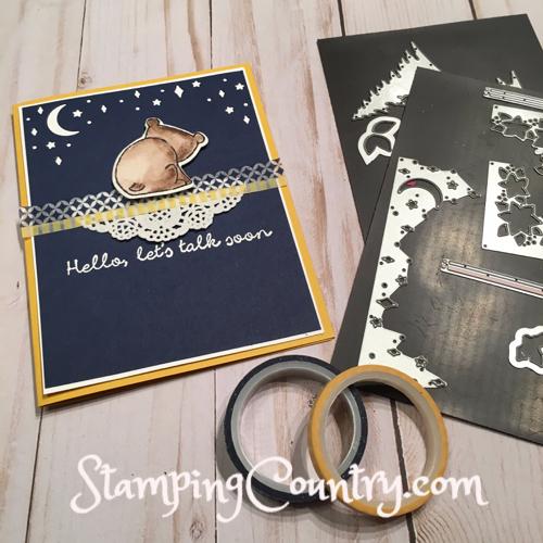 Hello Moon Card