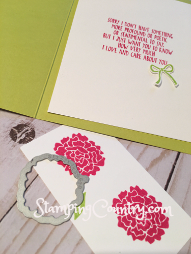 Here for You Stampin' Up!